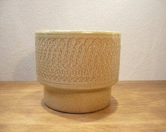 Vintage 1970s Pearson of Chesterfield planter, Pearson's Pottery plant pot holder