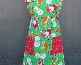 Reversible Holiday Apron - Item D