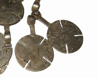 2 Large Ethiopian Telsum Amulets : Ethiopia African Tribal Beads
