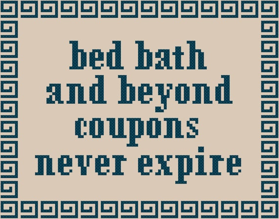Broad City Bed Bath And Beyond Coupons Cross Stitch