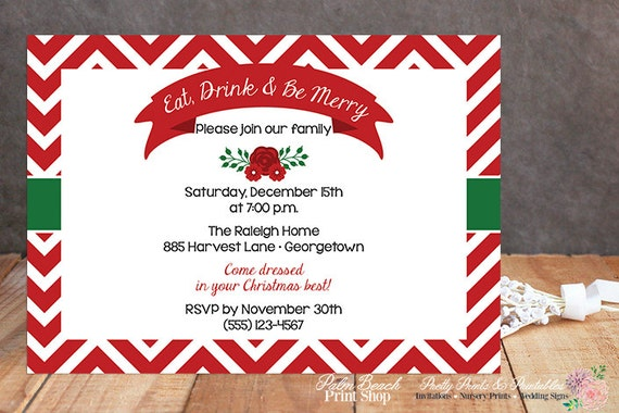 free printable christmas party invitations templates for your