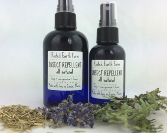 Insect Repellent - Natural Bug Spray - Tick Repellent - Organic Bug Spray - Non-Toxic Bug Spray - Tick Spray - Mosquito Spray - Bug Spray