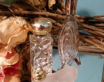 Three Vintage Avon Perfume Bottles