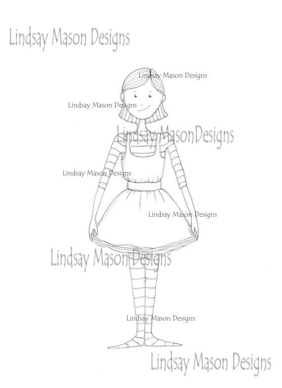 "Downloadable digital image - ""Little Louisa"""