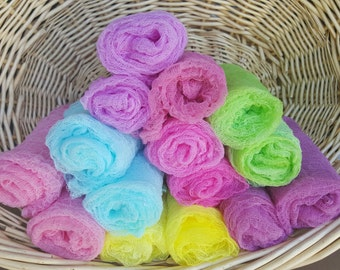 Newborn Swaddle Wrap/ Ready To Ship/Photography Wrap/ Newborn Wrap/ Cheesecloth/Hand Dyed/ MommyIsCrafty
