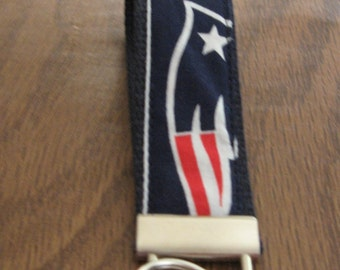 NFL New England Patriots  Sports Teams  1 inch Wristlet-  FREE SHIPPING