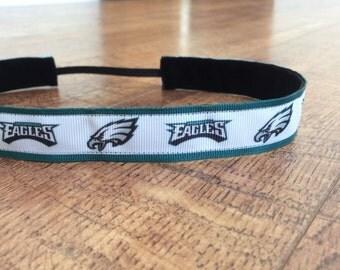 Philadelphia Eagles headband. Eagles headband, Eagles Football headband, sports headband, women's Eagles headband, girls Eagles headband