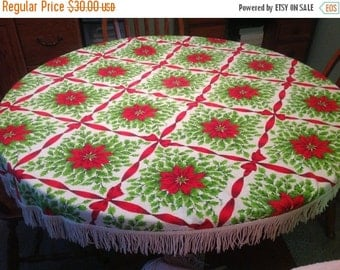 25%  Sale Event Christmas Holiday Tablecloth Holiday Tablecloth