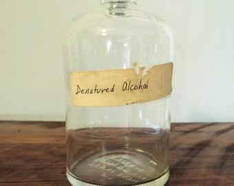 Antique Pyrex Lab Bottle