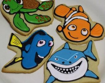 Nemo,Dori,Bruce and Squirt