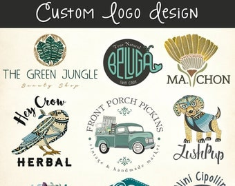 Custom Logo and Business Card Design Package - Professional Branding Company Business Graphic Design Service