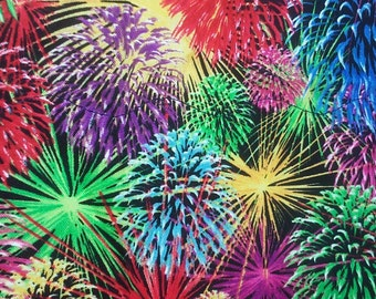 Colorful Firework Placemats (set of 4)