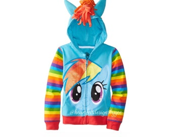 My Little Pony || Rainbow Dash Hoodie