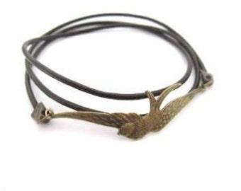 Swallows wristband bracelet