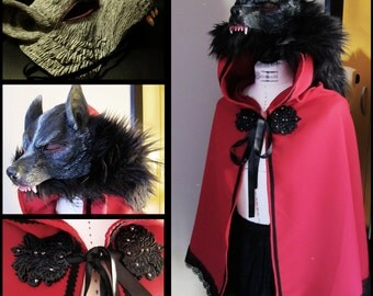 Red Riding Hood Wolf Cloak