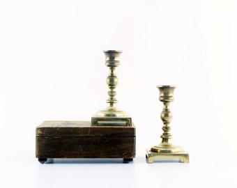 Brass Candle Holder - Set of 2