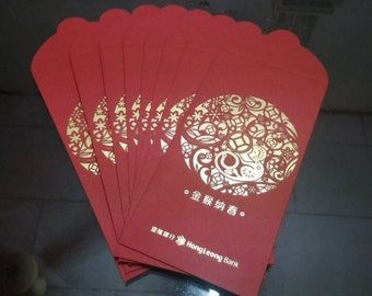 "8pcs "" Year of MONKEY"" Chinese Lucky Packet