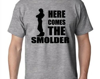 Disney Here Comes The Smolder Shirt | Disneys Tangled | Flynn Rider Shirt | Mens Disney Shirt | Disney Shirt | Rapunzel