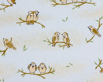 Chiyogami Paper 'Tweet' 906c for Cardmaking, Scrapbooking, Craft and Art Projects