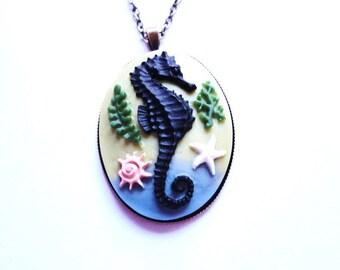 Necklace Seahorse Sea