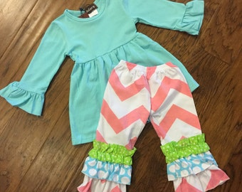 Easter Ruffle Outfit