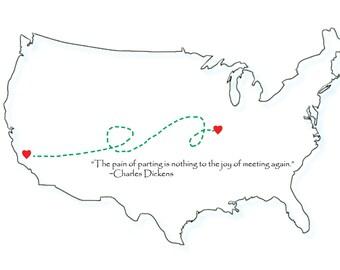 Long Distance Love Print (Digital Download)