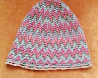 Pure Wool Vintage Pixie Hat