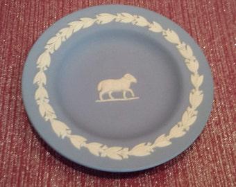 Jasperware Zodiac  Aries Dish