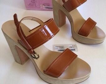 SALE 90s Miu Miu PRADA Shoes - Original Box and Tags - Size 8.5