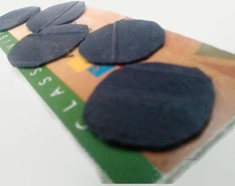 Bicycle Inner Tube Patches Made from Worn-Out Bicycle Inner Tube Flat Tire Repair DIY Patch Kit Deactivated Debit Card