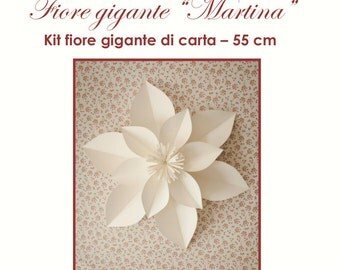 "kit fiore  di carta ""Martina"""