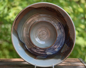 stoneware chip and dip
