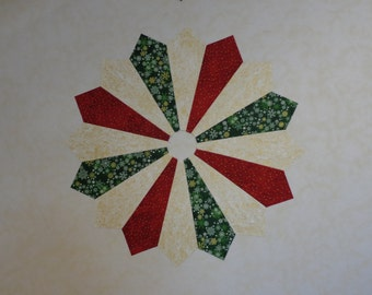 In Progress, Ready Soon!, Almost Finished, I'm Working On It, Sewing Like Crazy, Ships in 1 week, Order Now! Three Color Christmas Topper