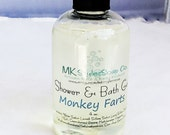 Monkey Farts Shower & Bath Gel 4 oz Travel Size