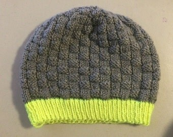 Basketweave Hat - Knitting Pattern