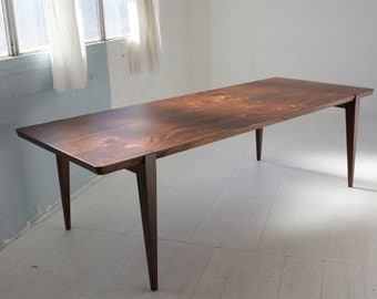 "96"" Oregon Walnut Oslo Dining Table"