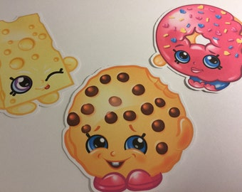 Shopkins Die Cuts qty 3