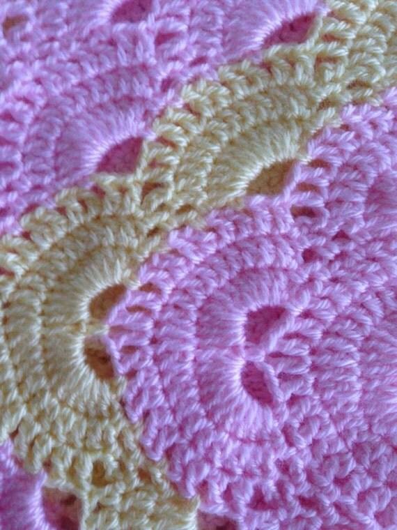 Rectangle Virus Blanket Pattern Virus Afghan Pattern