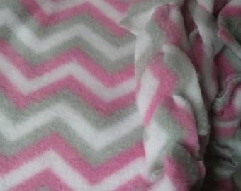 Zig Zag Patterned Baby Blanket