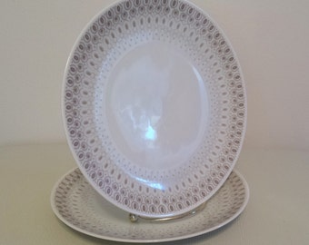 Vintage Plates Rosenthal Continental China Germany Raymond Loewy R 452 Two Salad Plates Dinnerware
