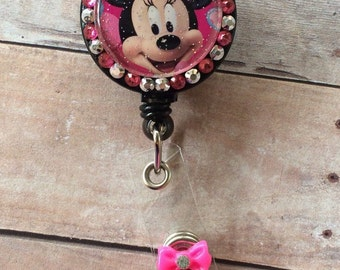 Minnie Mouse with pink