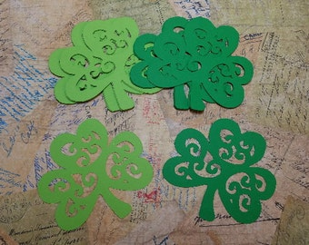 Decorative Shamrocks.  #CON-46