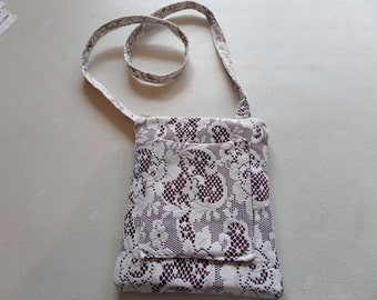 Lace Covered  Purse
