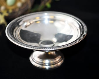 Beautiful Sterling Silver Compote, Vintage Compote, Candy Dish, antique, Great gift idea, #416