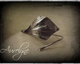 Bracelet stainless steel adjustable Psylle plant dreamlike fairy elven Elm