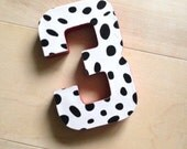 Reserved Listing Number  Photo Prop First Birthday party Dalmatian centerpiece Nautical