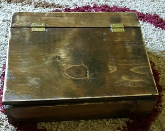 Cute Handmade Wooden Box