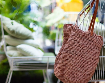 Summer Tote, Weekend Bag,Straw Tote, Straw Beach Bag