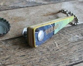 Bottle Opener handcrafted from a recycled skateboard deck