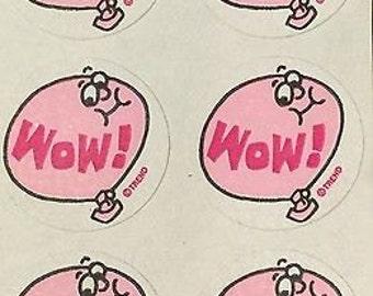 Vintage scratch and sniff stickers Trend matte bubblegum